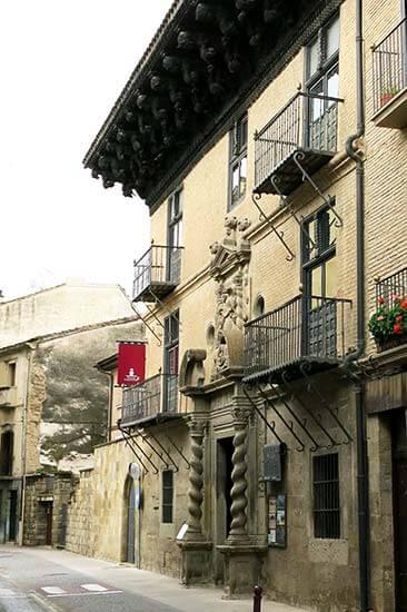 Sanguesa. Palacio de Ongay-Vallesantoro