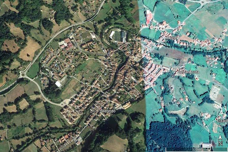 Elizondo-Elbete (Google earth 2020-07-29)