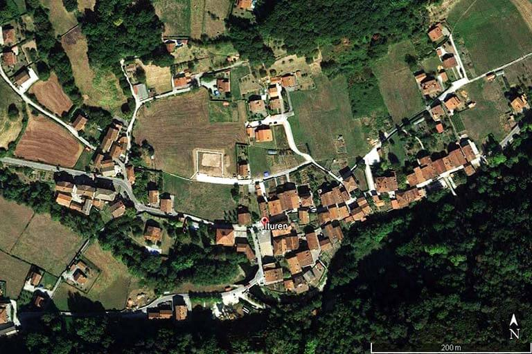 Ituren (Google earth 2020-01-22)