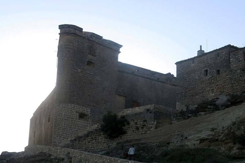 Sabiote muralla Castillo