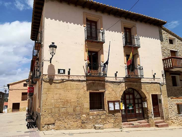 Ayuntamiento Royuela Teruel