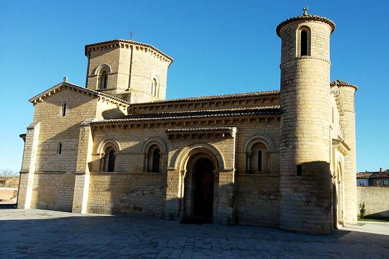 Iglesia románica de San Martín de Tours de Frómista (Palencia)