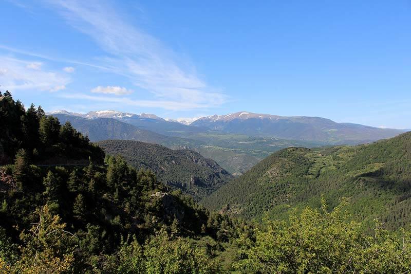 Els Pirineus des de Querforadat