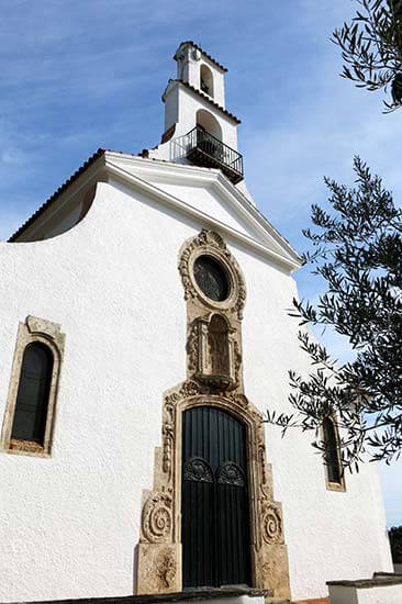 S'Agaro, Girona. Esglesia de la Nostra Senyora de l'Esperança