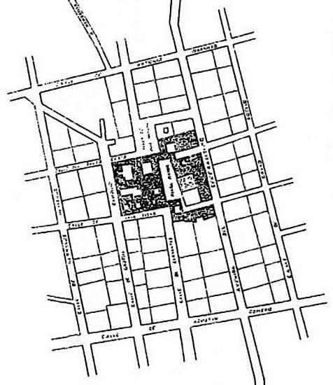 San Carlos del Valle Planos historicos Muñoz Jimenez 1787