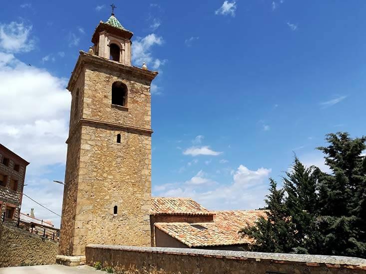 Iglesia parroquial de San Bartolome Royuela Teruel