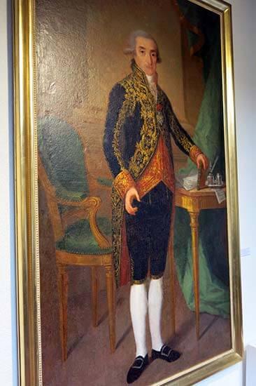 Sanguesa, Miguel José de Azanza Navarlaz, por Agustín Esteve