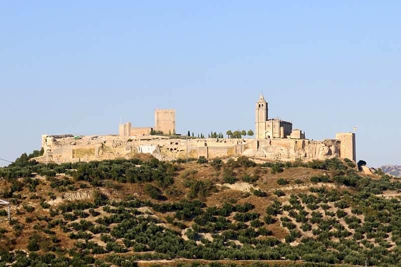 Alcalá la Real Castillo de la Mota
