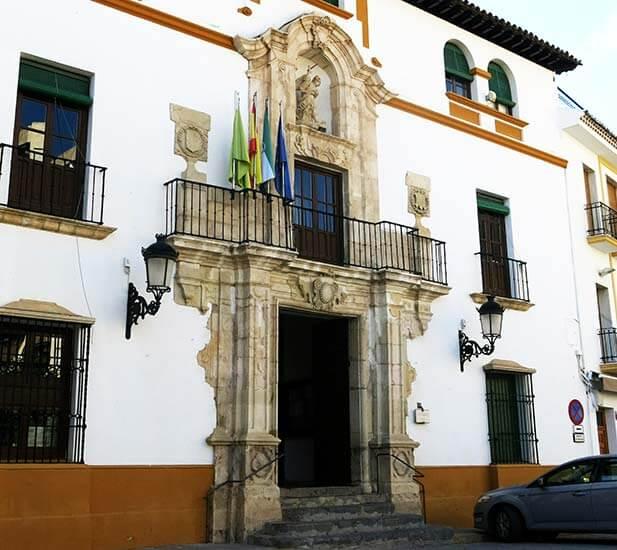 Alcaudete Casas consistoriales