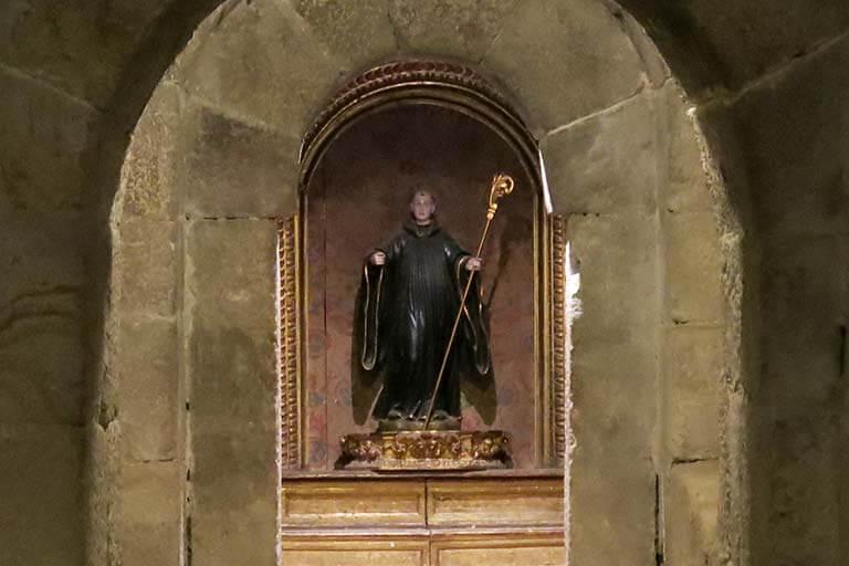 Monasterio de Leyre, Tunel de San Virila