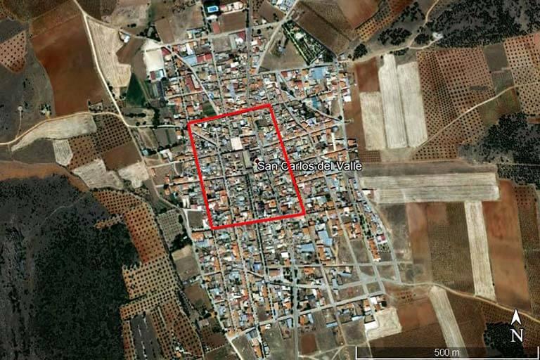 San Carlos del Valle (Google earth 2019-08-08)