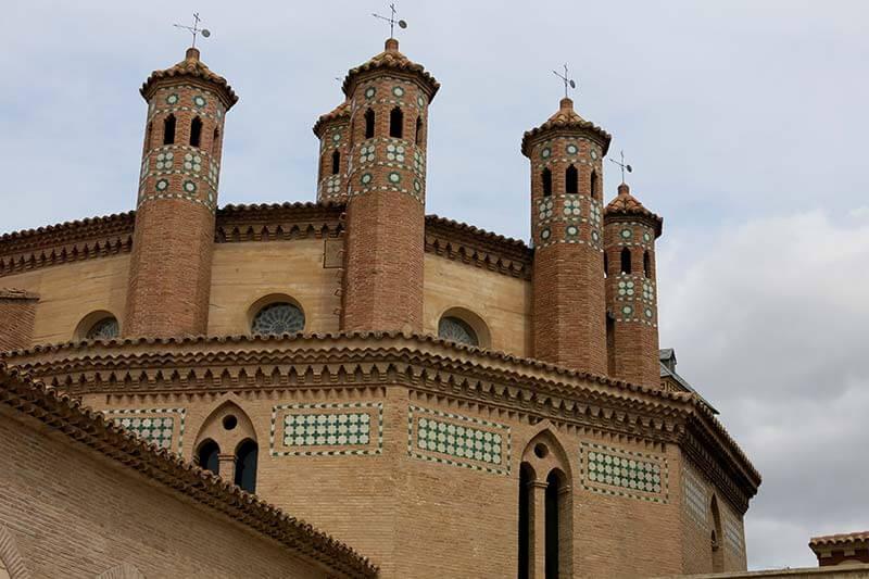 Ábside gótico-mudéjar de la Iglesia de San Pedro de Teruel