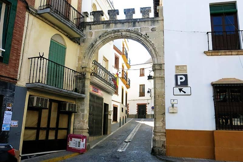 Alcaudete Arco de la Villa