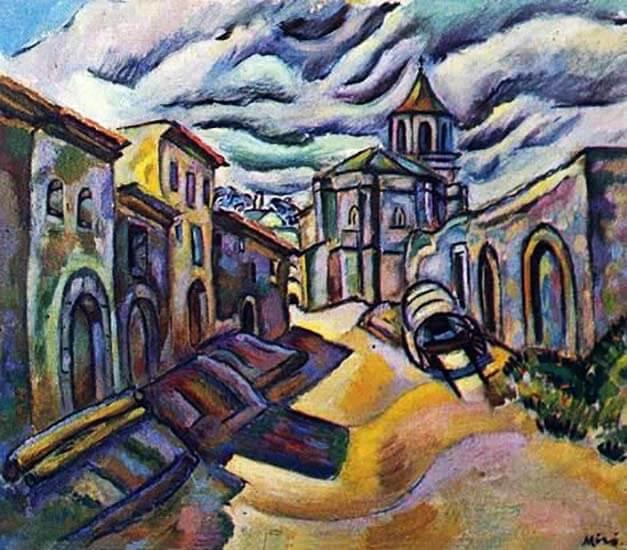Prades.Tarragona Joan Miró. Carrer de Prades