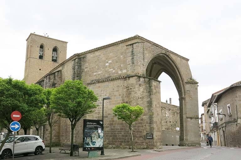Sanguesa. Iglesia de San Salvador