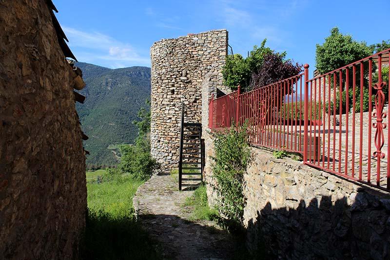 Toloriu Torre del castell