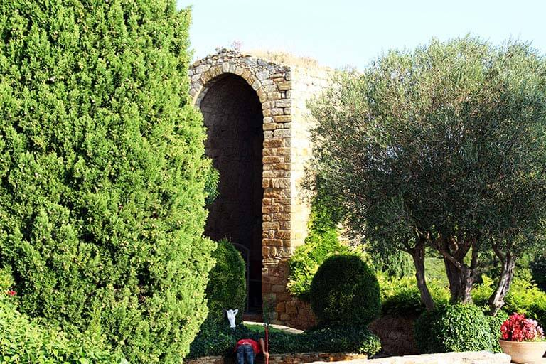 Pals, Girona. Castell