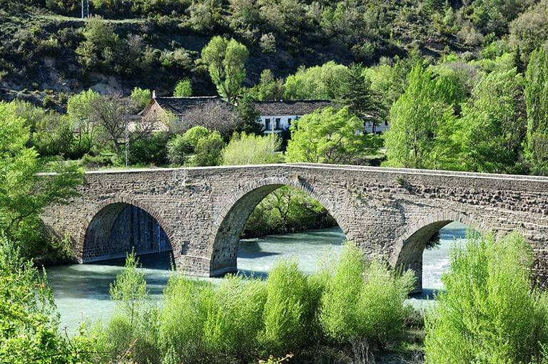 Puente, Anzanigo, Huesca