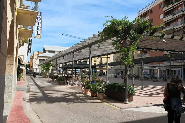 Sant Feliu de Guixols, Girona, plaça del Mercat
