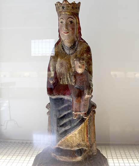 Mare de Déu d'Olp. Museu Diocesa de La Seu d'Urgell