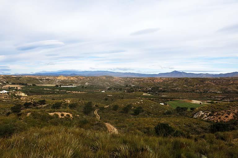 Parque natural karst en yesos de Sorbas. Almeria