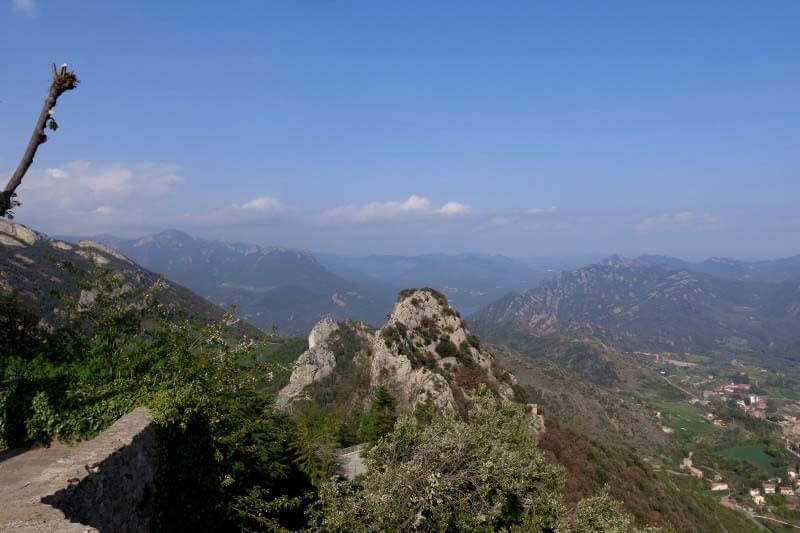 Vista sobre el Prepirineu