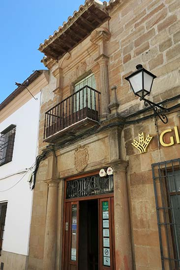 Villanueva de los Infantes Calle Cervantes