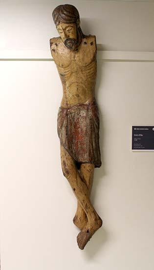 Crist d'Olp. Museu Diocesa de La Seu d'Urgell