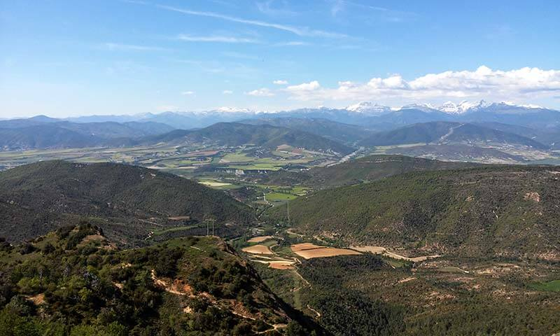 San Juan de la Peña Balcon de los Pirineos