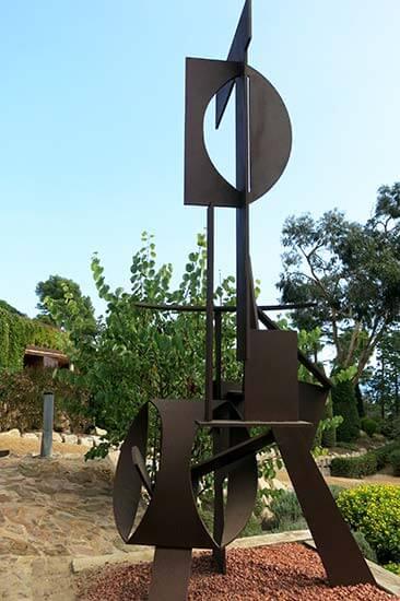 "Jardins de Cap Roig Calella de Palafrugell Paul Suter ""Janus"""