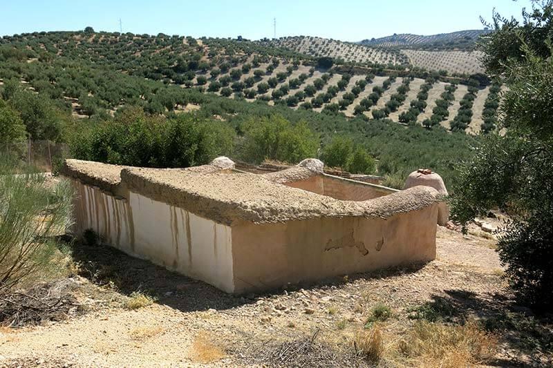 Almedinilla poblado iber0 cerro de la cruz