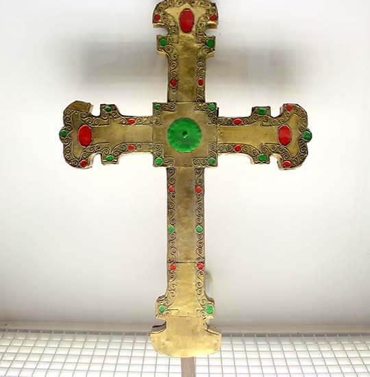 Creu processional. Catedral (La Seu d'Urgell). Museu Diocesa de La Seu d'Urgell