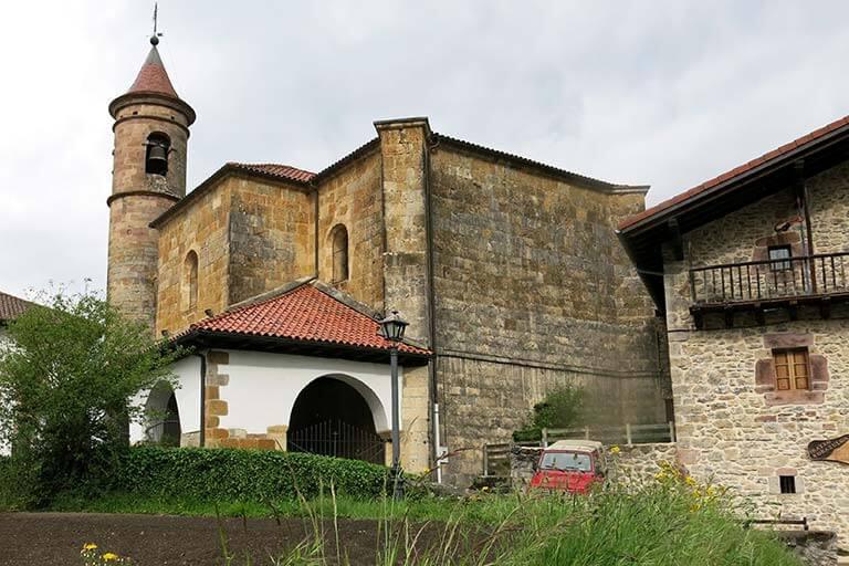 Donamaria Iglesia de Nuestra Señora de la Asunción