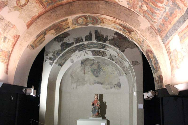Pintures murals d'Aineto. Museu Diocesa de La Seu d'Urgell