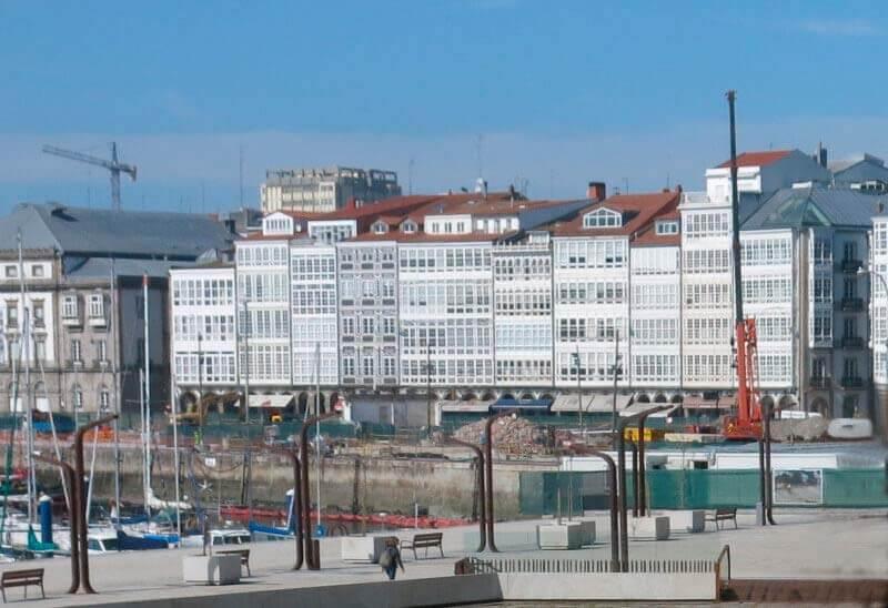 Front portuari de A Coruña