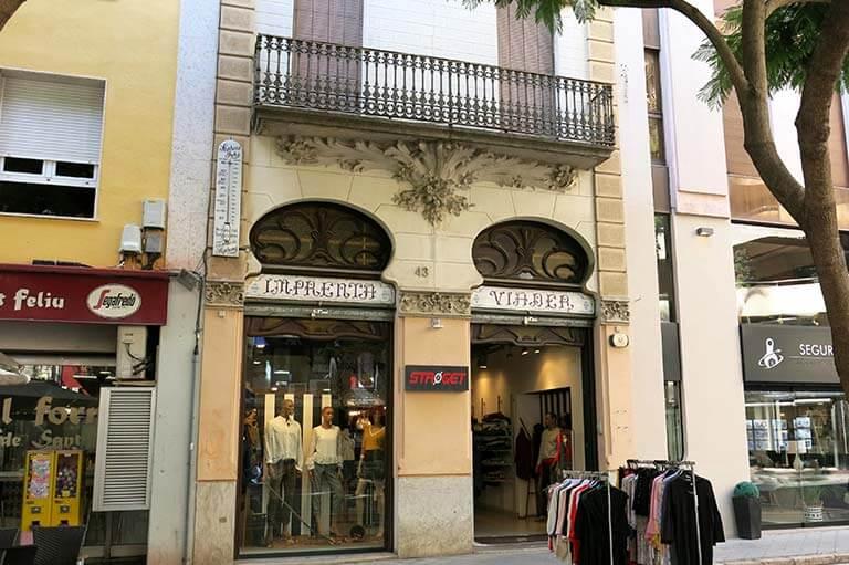Sant Feliu de Guixols, Girona, casa Viader