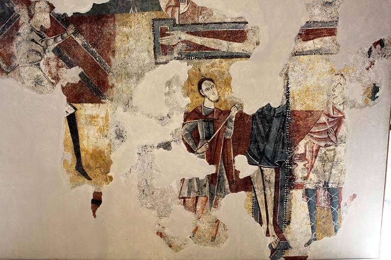 Crucifixió. Estaon. Museu Diocesa de La Seu d'Urgell