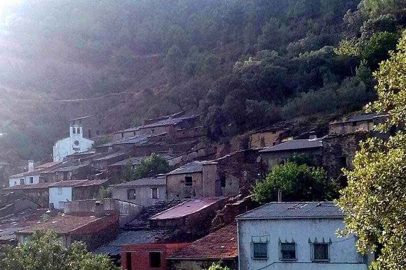 Riomalo de Arriba, Las Hurdes