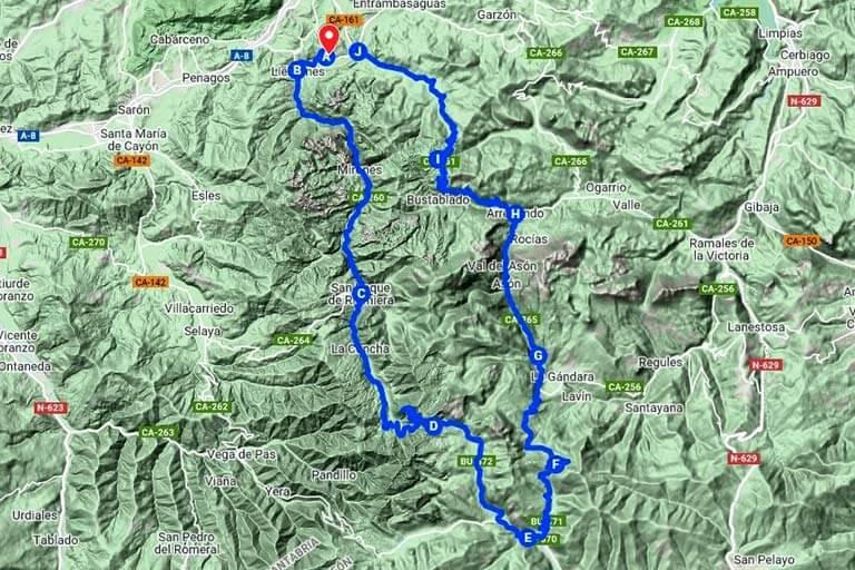 Ruta Valles Pasiegos y del Ason, Cantabria