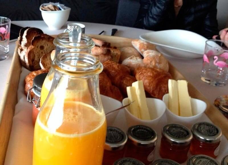 As Garzas desayuno