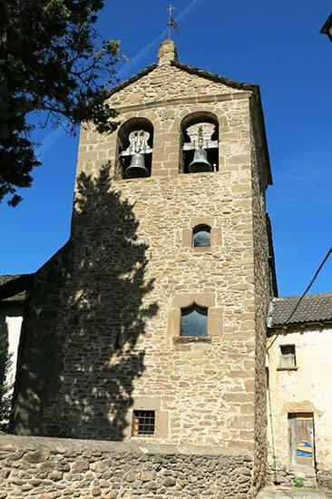 Iglesia de Santa Agueda Anzanigo, Huesca