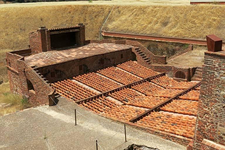 Parque minero de Almaden Horno Bustamante