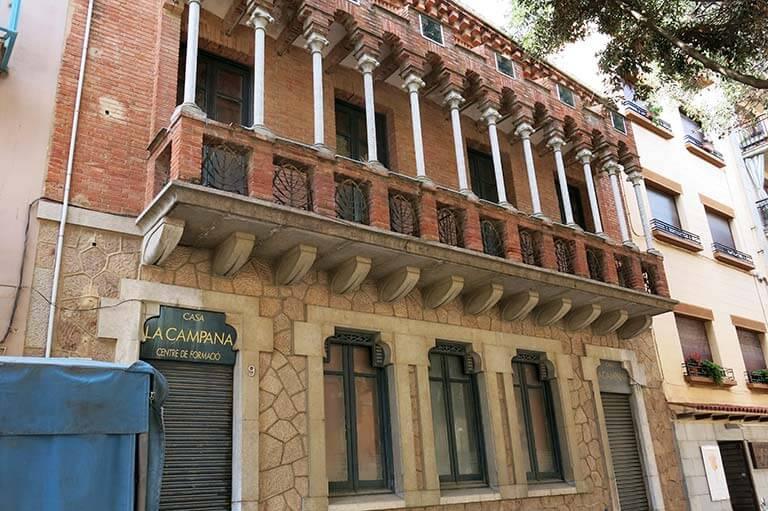Sant Feliu de Guixols, Girona, casa La Campana