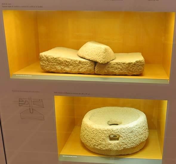 Ullastret Museo Trabajo-de-la-piedra-molino