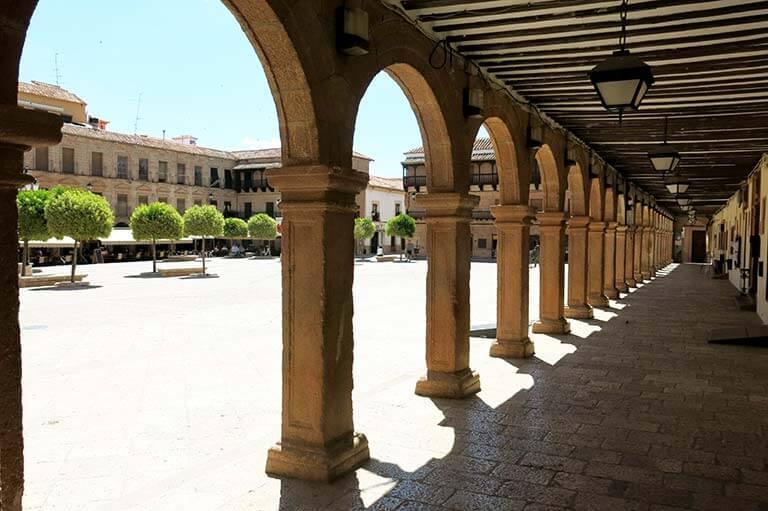 Villanueva de los Infantes Plaza Mayor