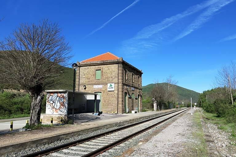 Estacion de Anzanigo, Huesca