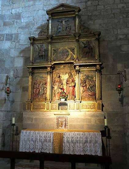 Monasterio de Leyre, Capilla del Santisimo
