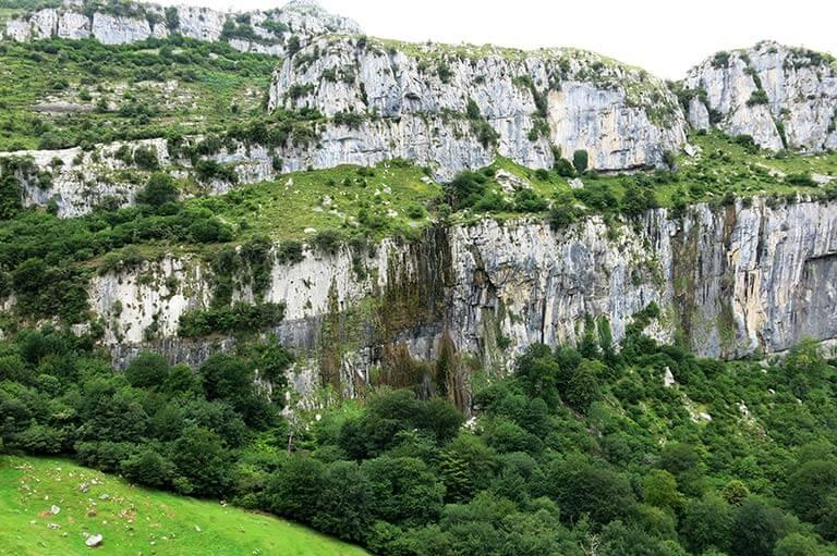 Nacimiento del rio Ason, Cantabria