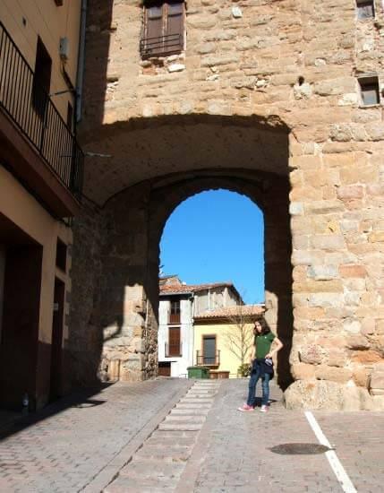 Berga, Portal de Santa Magdalena