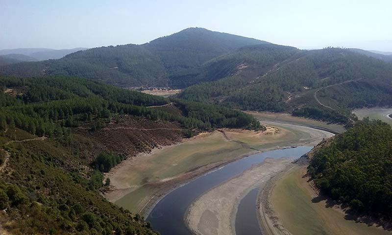 Meandro del Melero, Las Hurdes